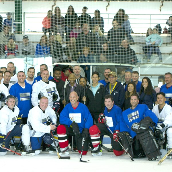 Face Off to Fight Pediatric Cancer Charity Hockey Game