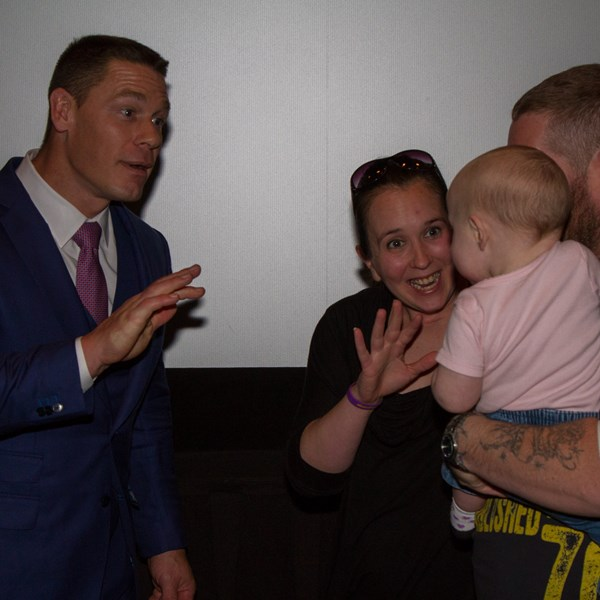 WWE Superstar John Cena Surprises Fans