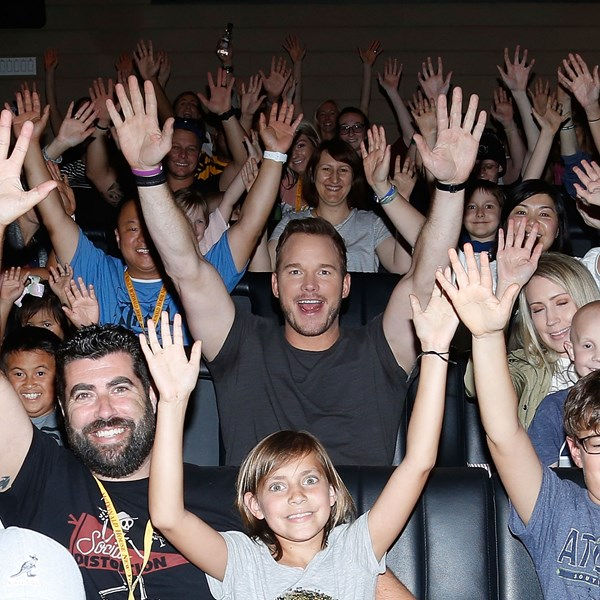 Chris Pratt Double Header Thrills Countless Young Fans