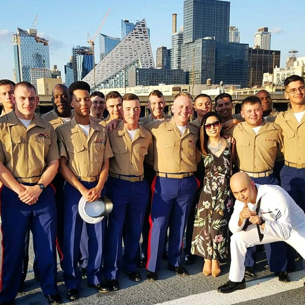 Fleet Week Sails into Manhattan