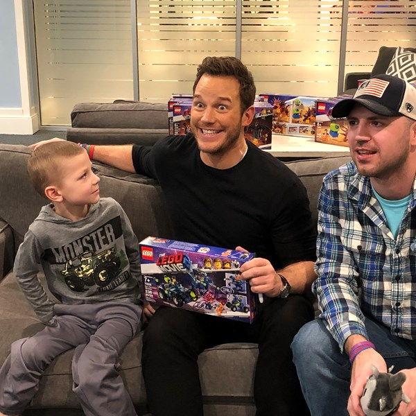 Chris Pratt & Warner Bros. Bring Lego 2 to NYC