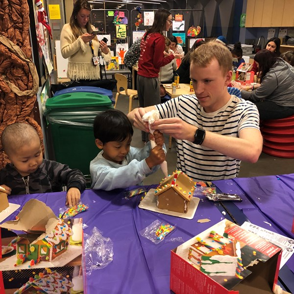 Gingerbread Houses with ID Public Relations