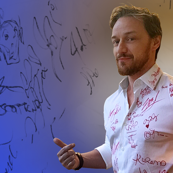 Win James McAvoy's Oscars Shirt