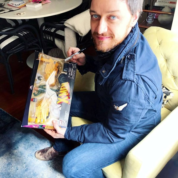 James McAvoy Sweepstakes Winner