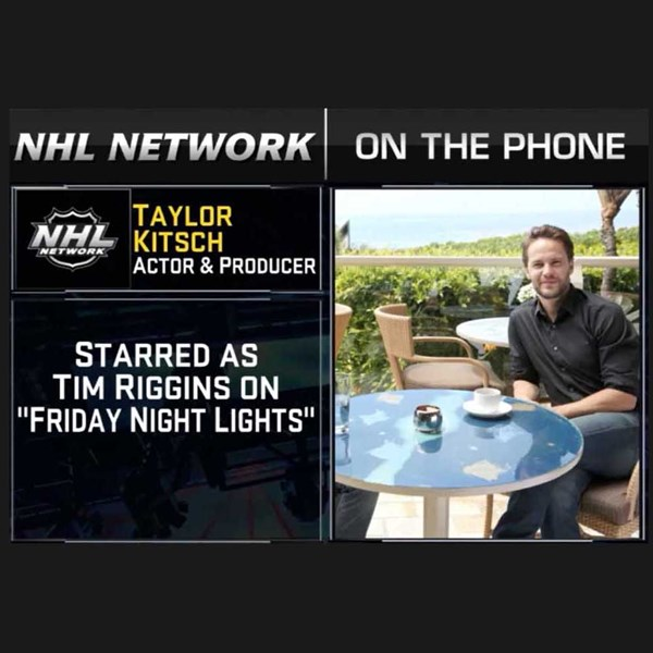 Taylor Kitsch on NHL Network